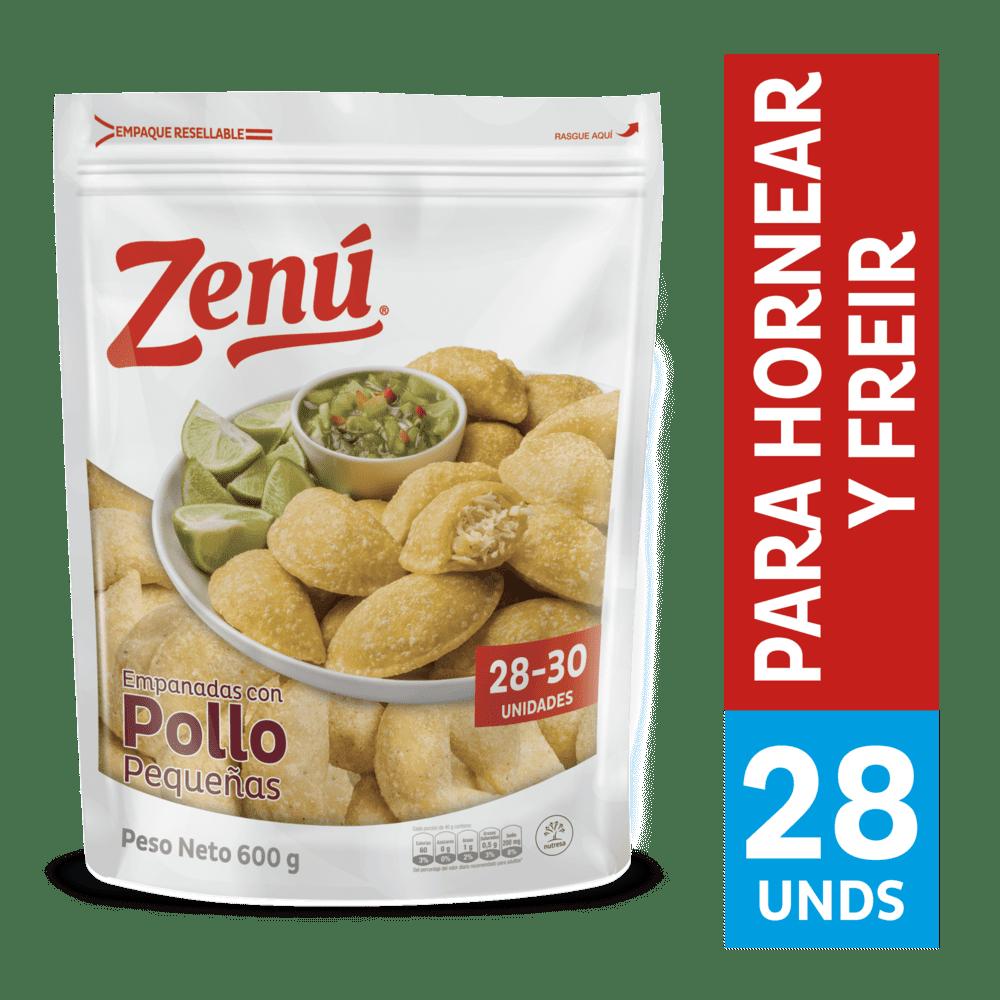 Empanadas De Pollo Zenú  X 30 Und / 600 G