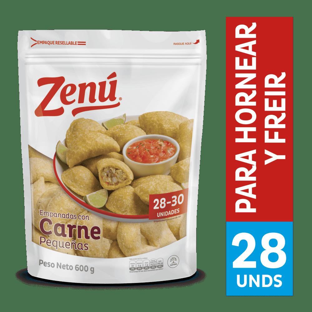 Empanadas De Carne Zenú  X 30 Und / 600 G
