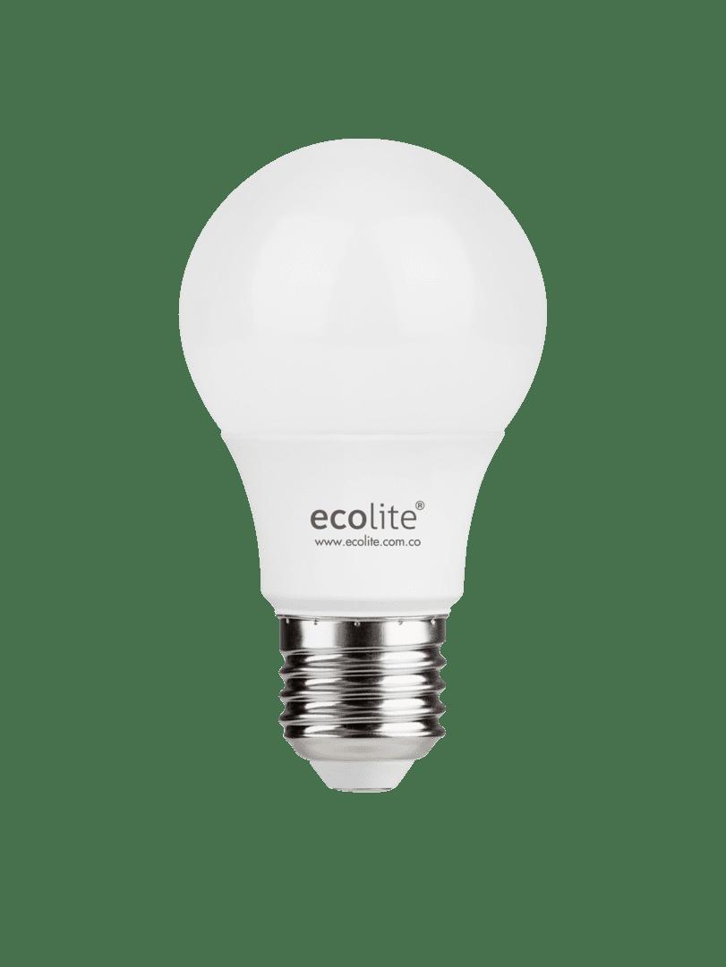 Bombillo Led Ecolite Luz Blanca 9W