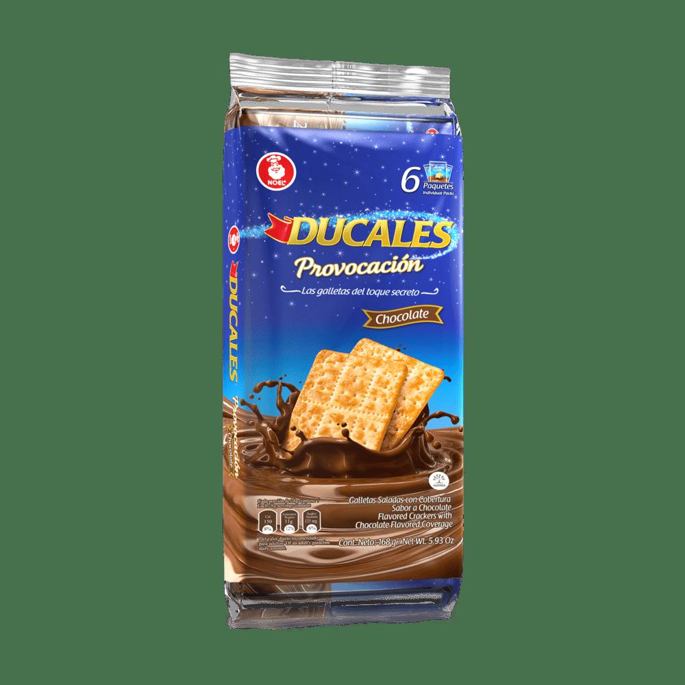 Galletas Ducales Provocación Chocolate X 6 Paq / 168 G