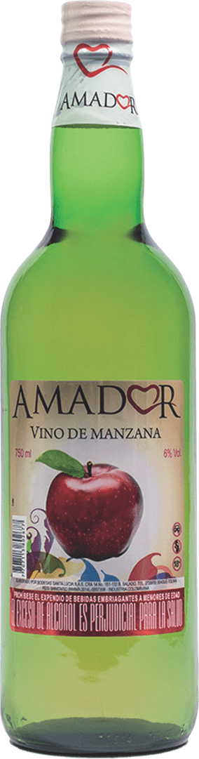Vino Amador Manzana 750 Cm3
