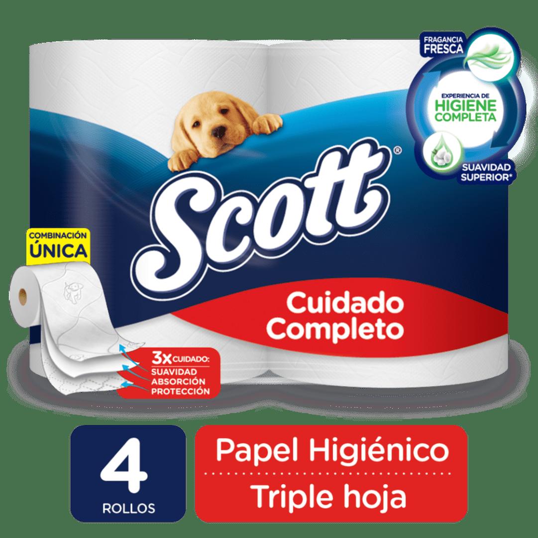 Papel Scott X 4 Cuidado Completo Precio Especial 144