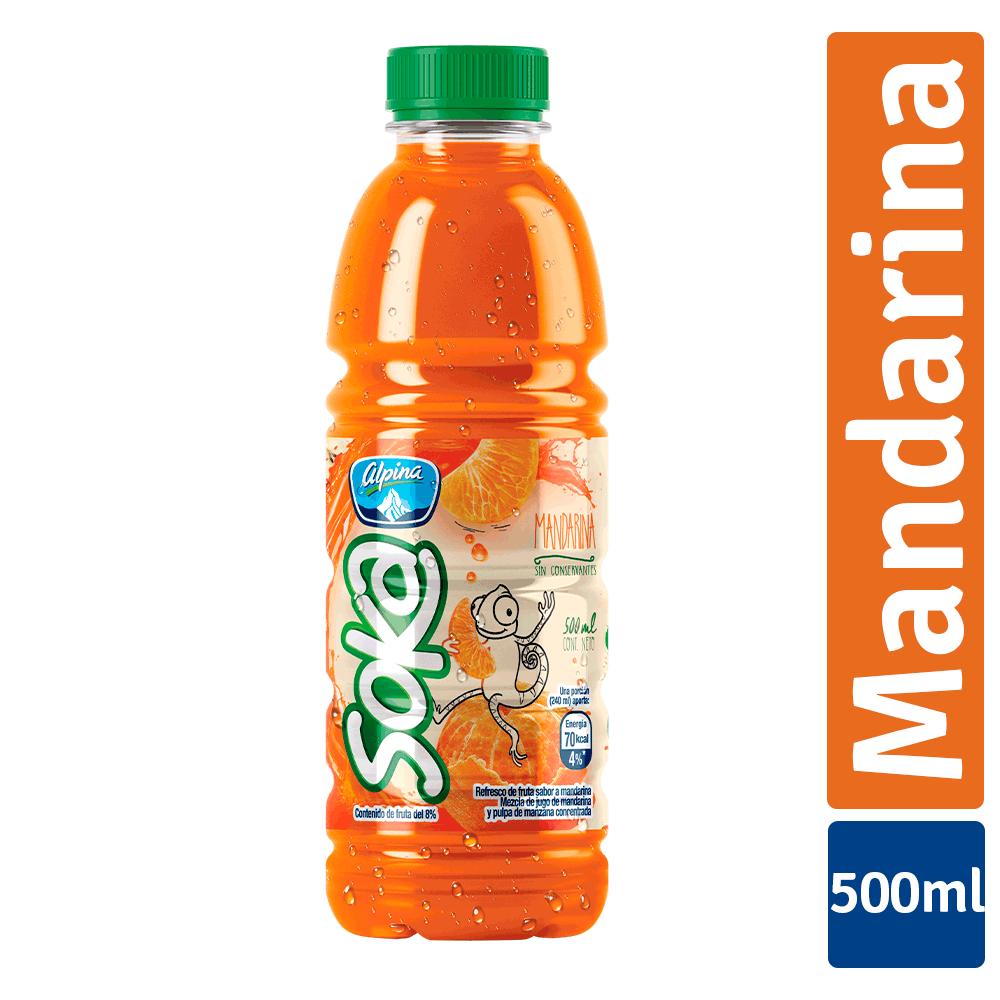 Refresco Soka Mandarina 500Ml