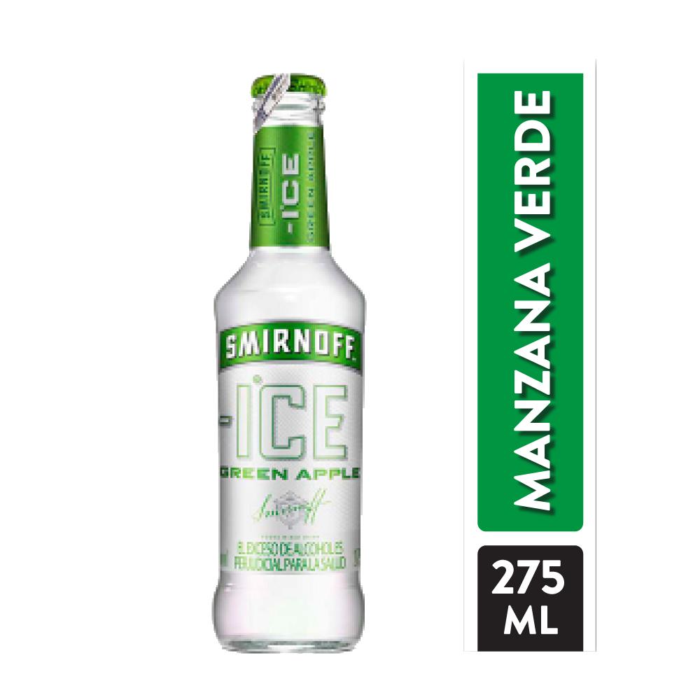Vodka Smirnoff Ice Green Apple 275 Ml