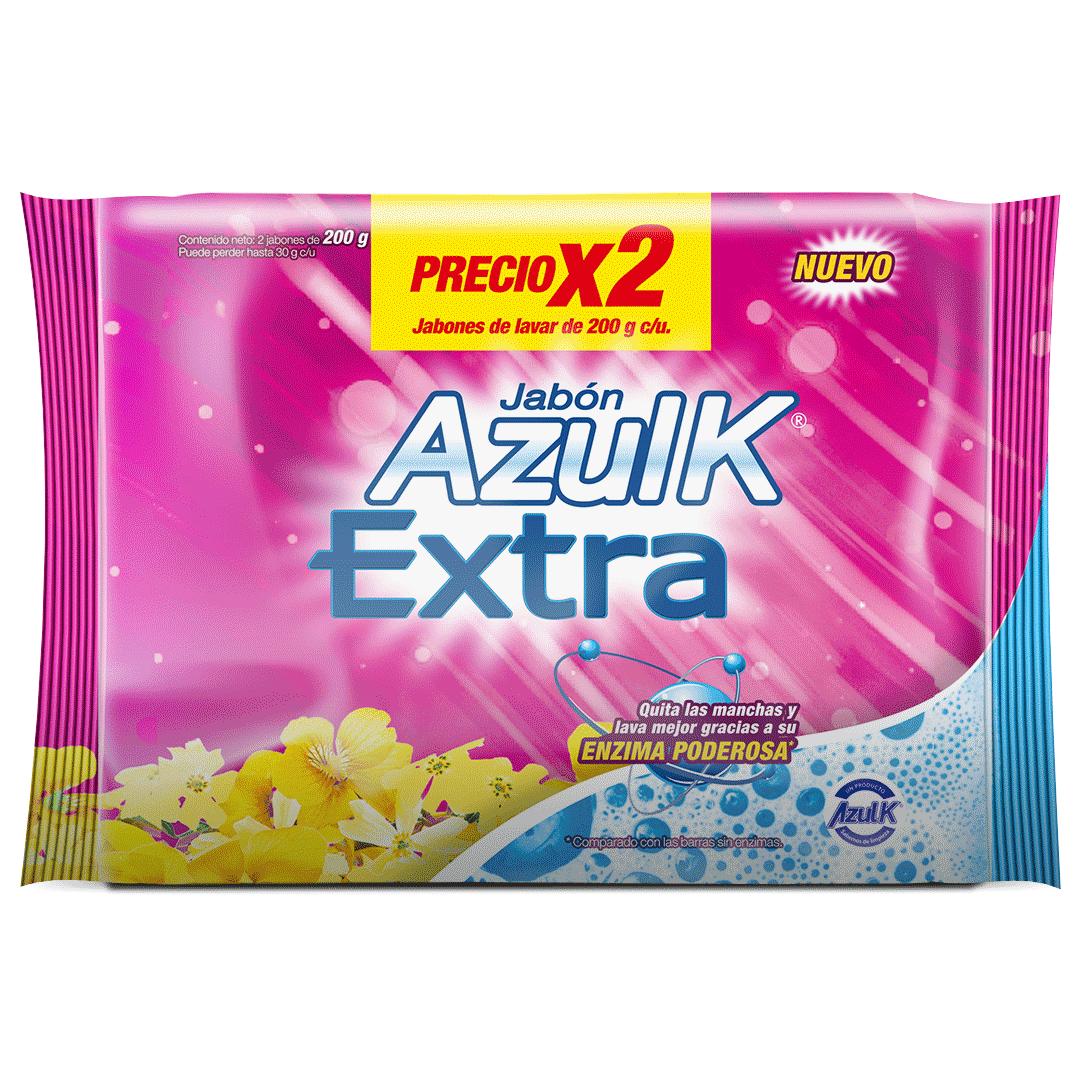 Jabón Azul K 2 Undx200 G Extra Poder