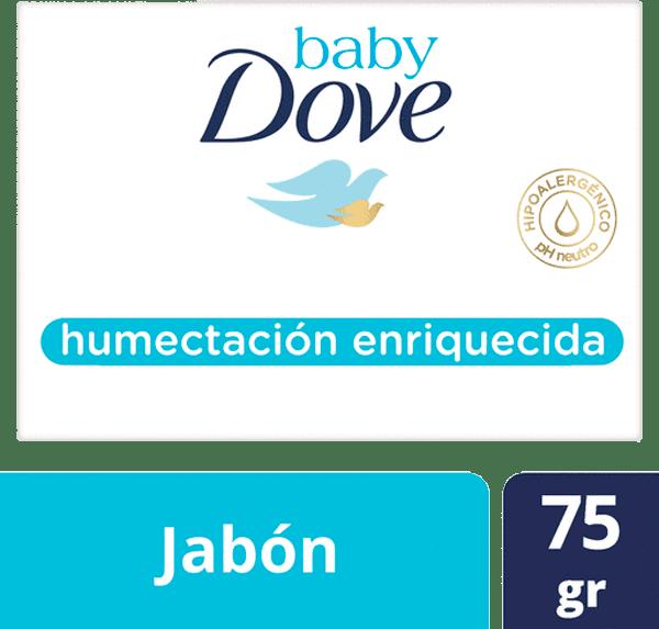 Jabón Baby Dove Humectación Enriquecida 75 G