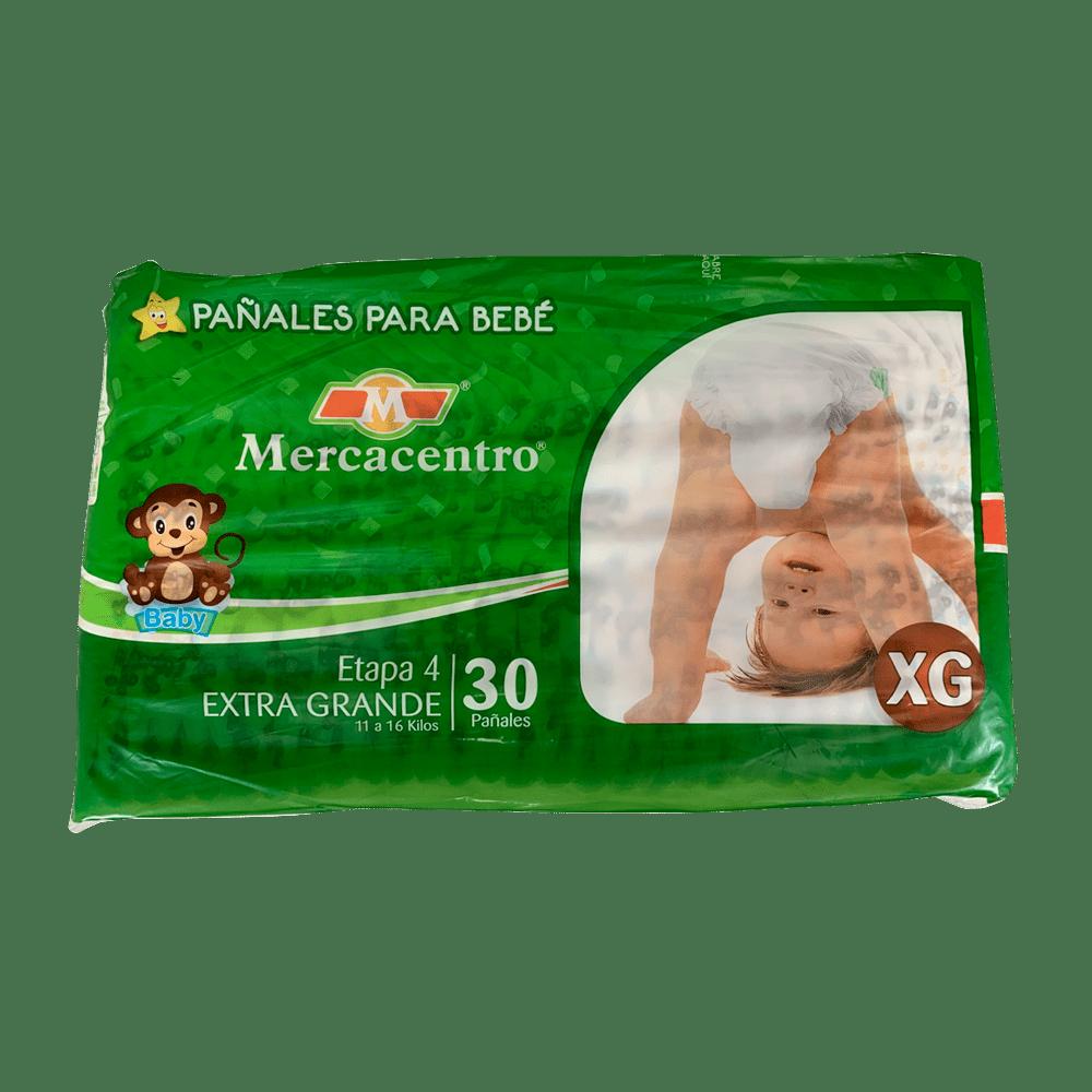 Pañal Mercacentro Extragrande X 30 Und