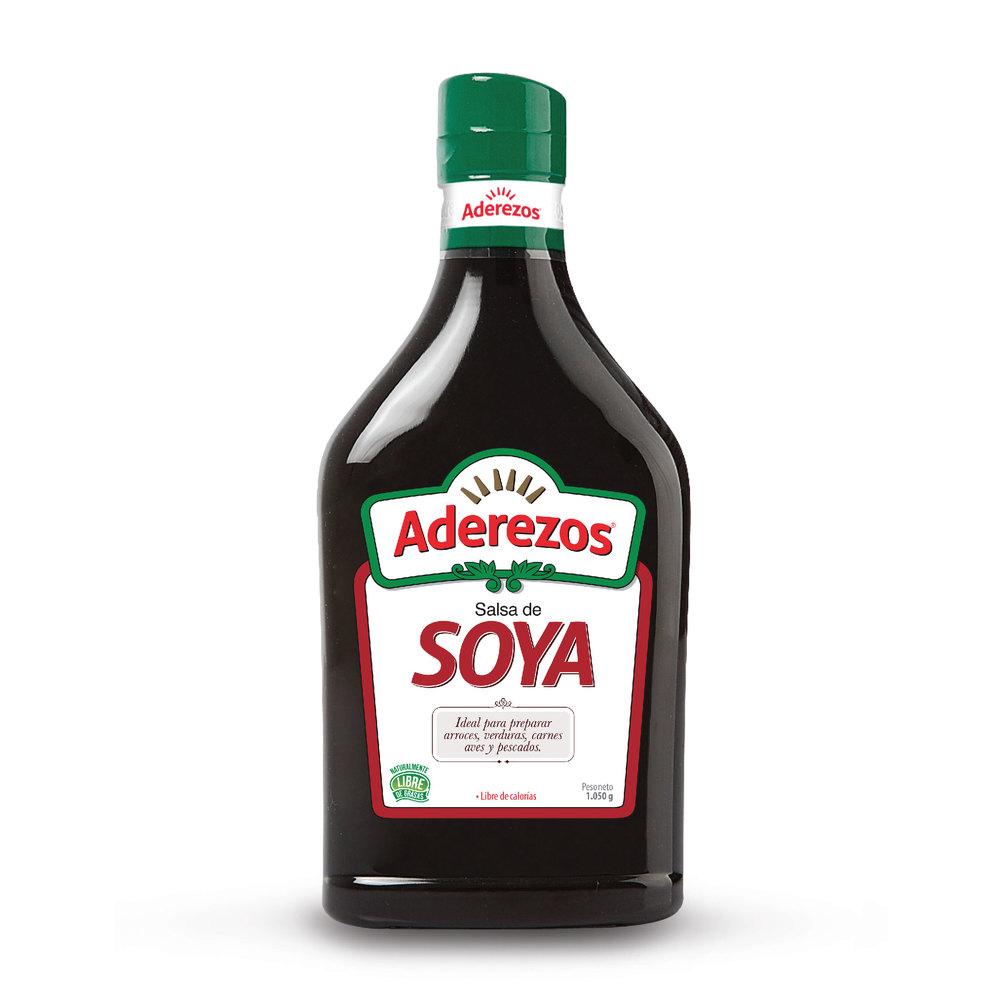 Salsa Soya Aderezos 1050 G