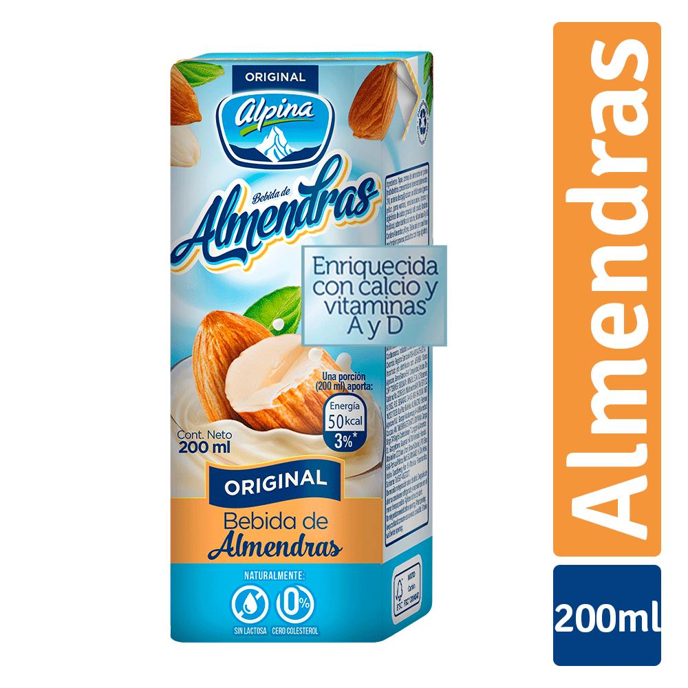 Bebida De Almendra Alpina Uht 200 Ml
