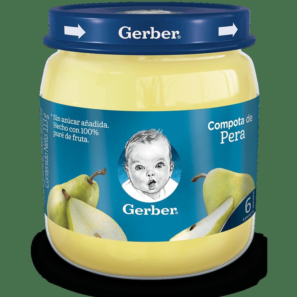 Compota Gerber Pur Pera 113 G