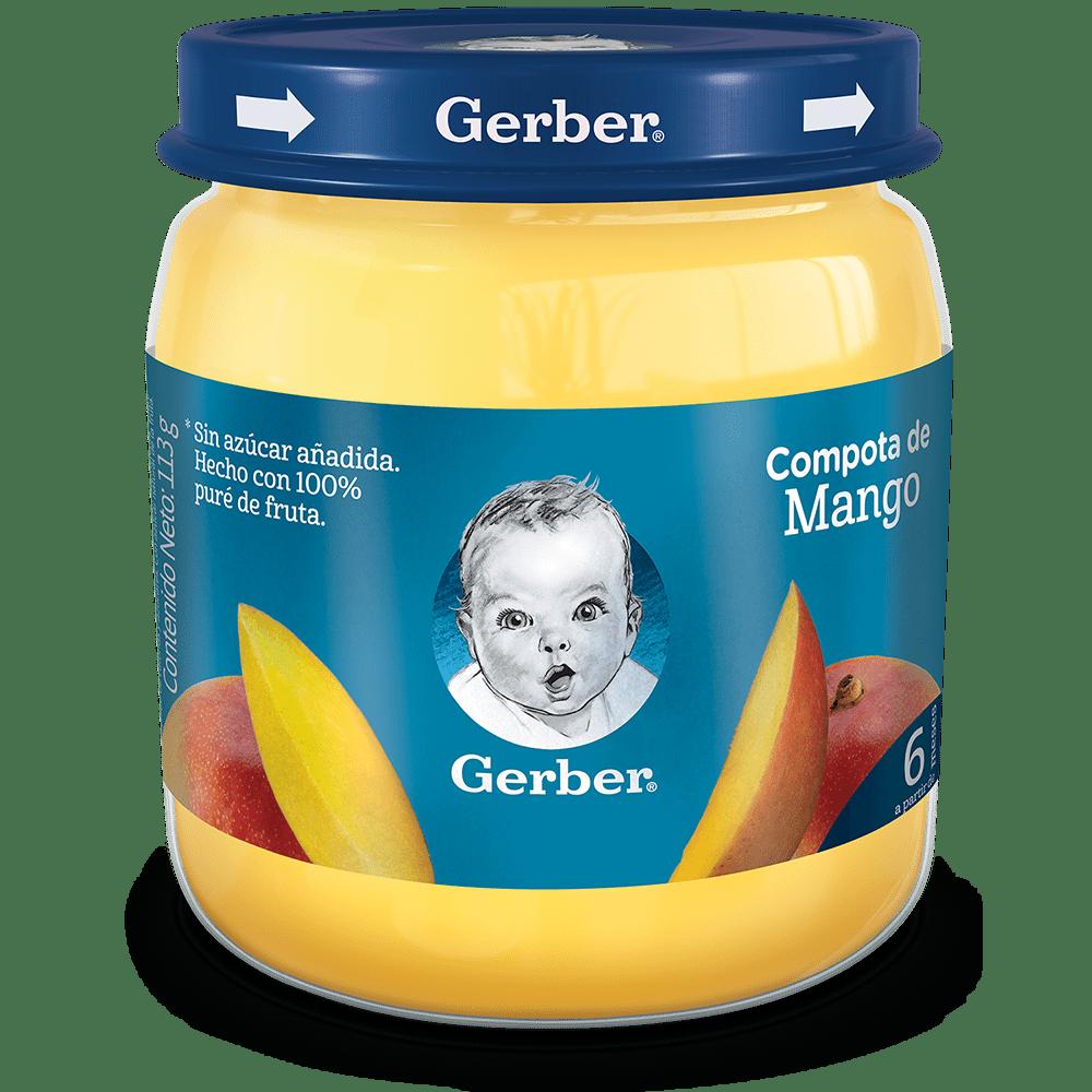 Compota Gerber Pur Mango 113 G