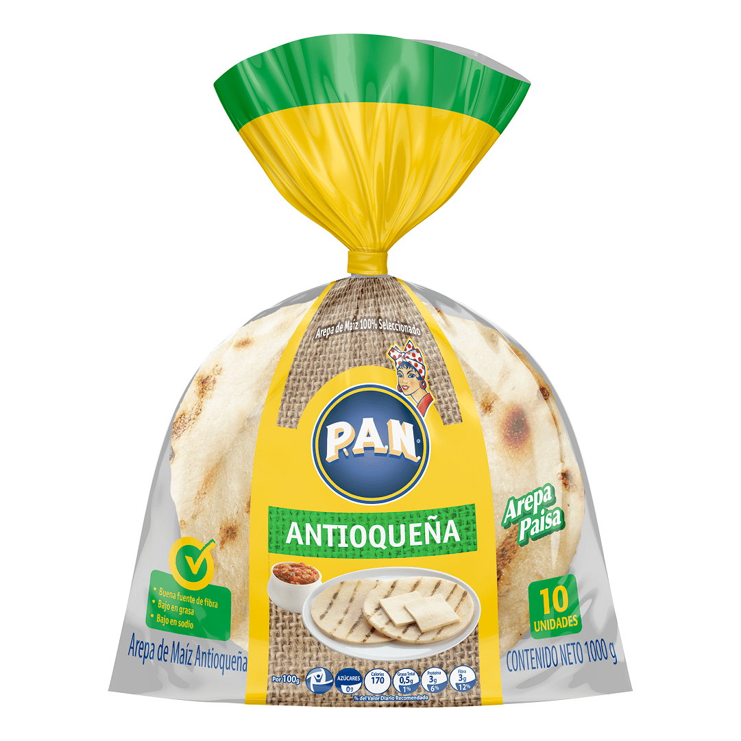Arepa Pan X10 Und Antioqueña