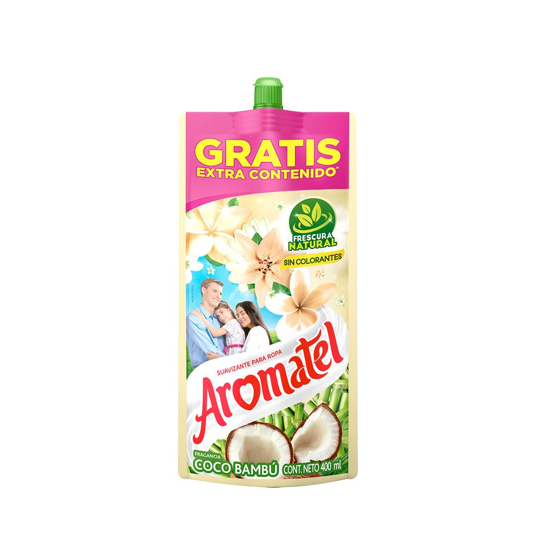 Suavizante Aromatel Coco Doypack 400 Ml