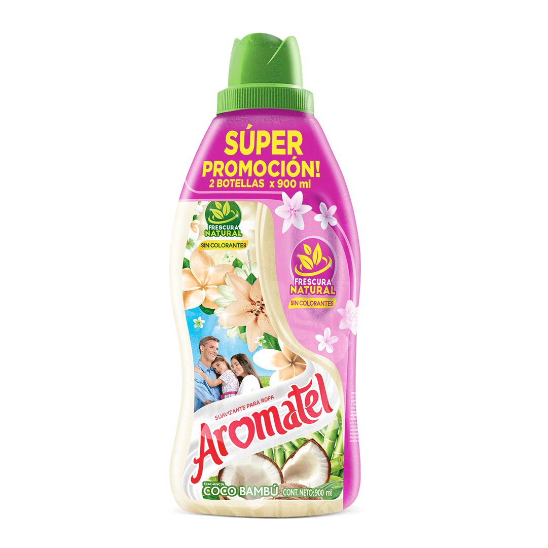 Suavizante Aromatel Coco Doypack 2X 900 Ml