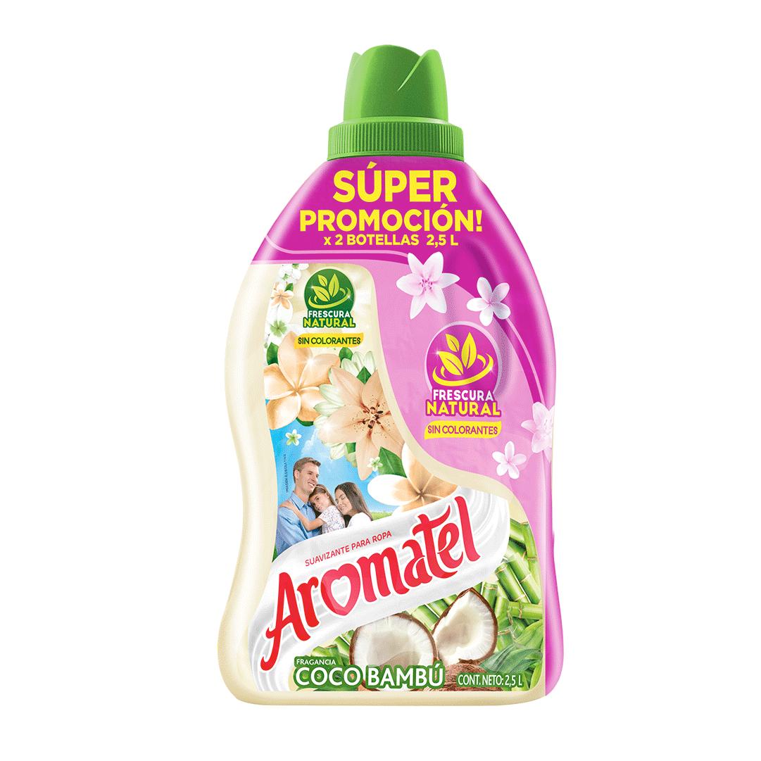 Suavizante Aromatel Coco Doypack 2X 2500 Ml