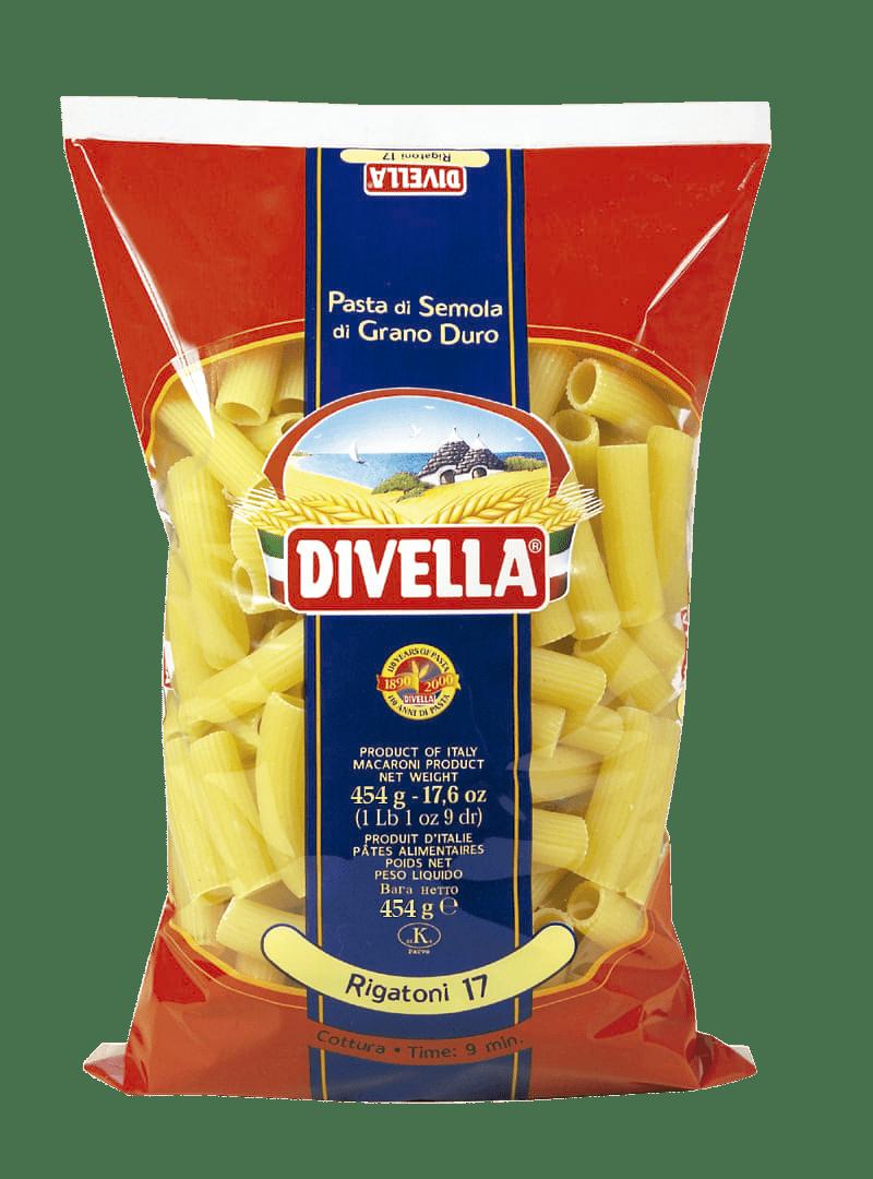 Pasta Divella 454 G Rigatoni
