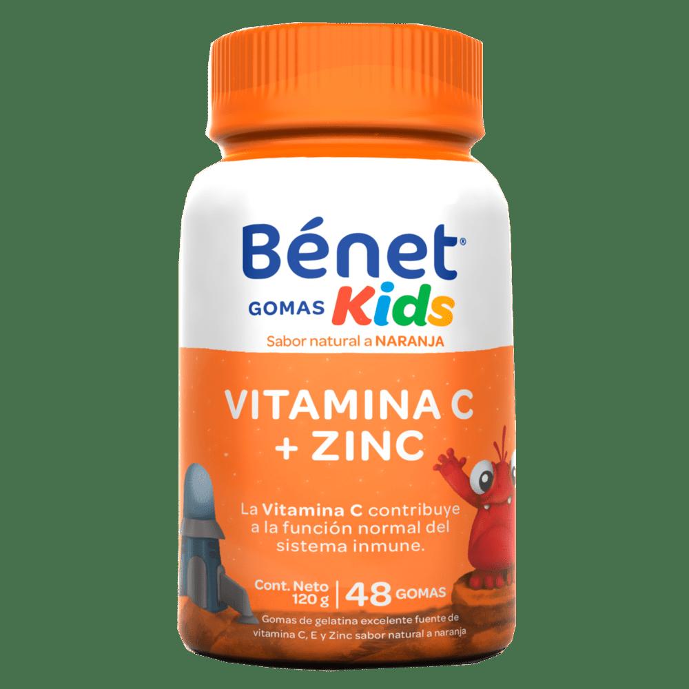 Benet Kids Gomas Vitamina C + Zinc 120 G