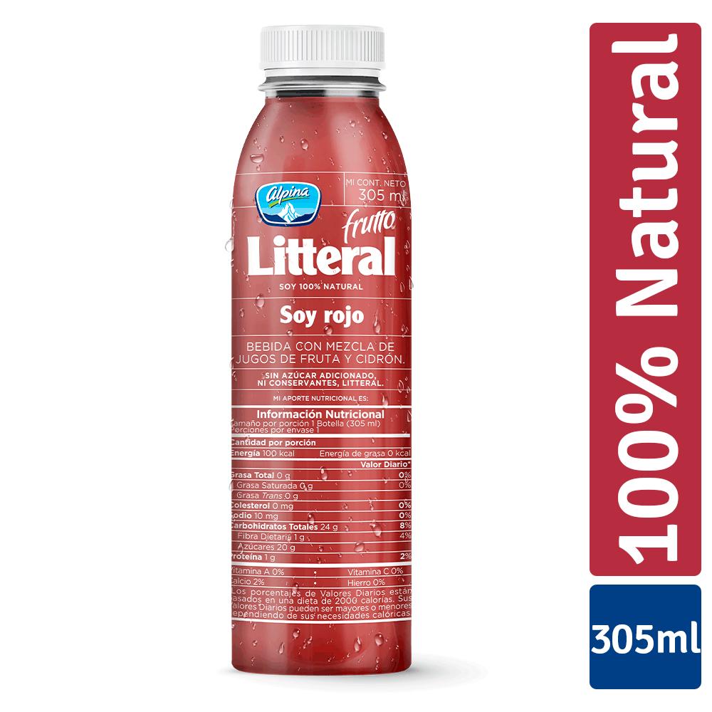 Frutto Litteral Rojo 305Ml