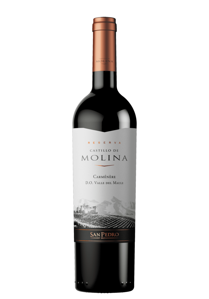 Vino Castillo Molina 750 Ml Carmenere