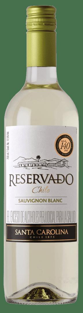 Vino Santa Carolina 750 Ml Sauvignon Reservado Blanco