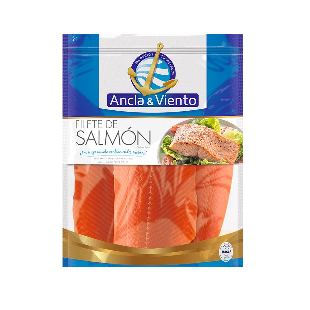 Filete De Salmon Ancla Y Viento 450 G