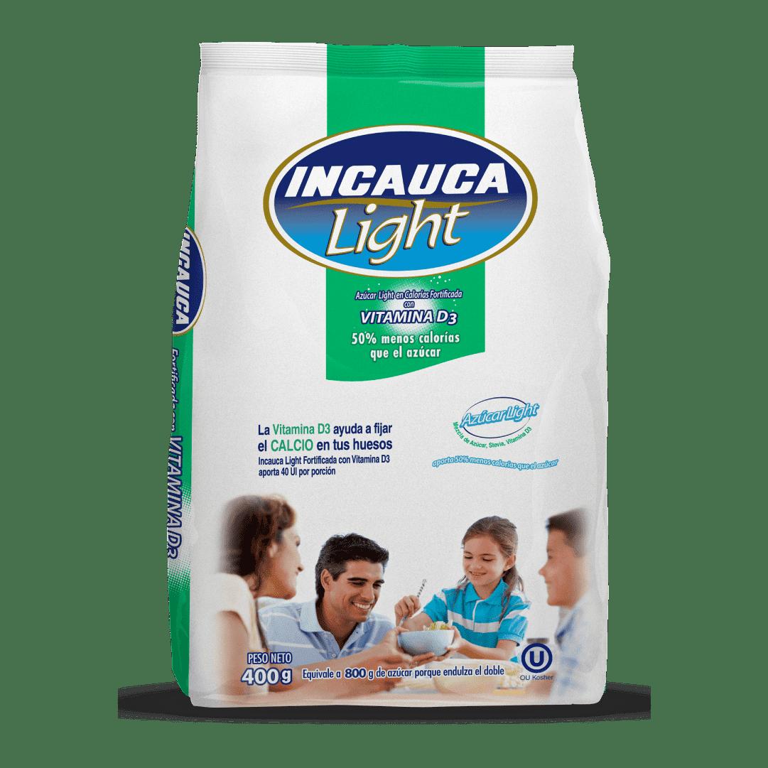 Azúcar  Incauca Light Vitamina D3 Fortificada 400 G