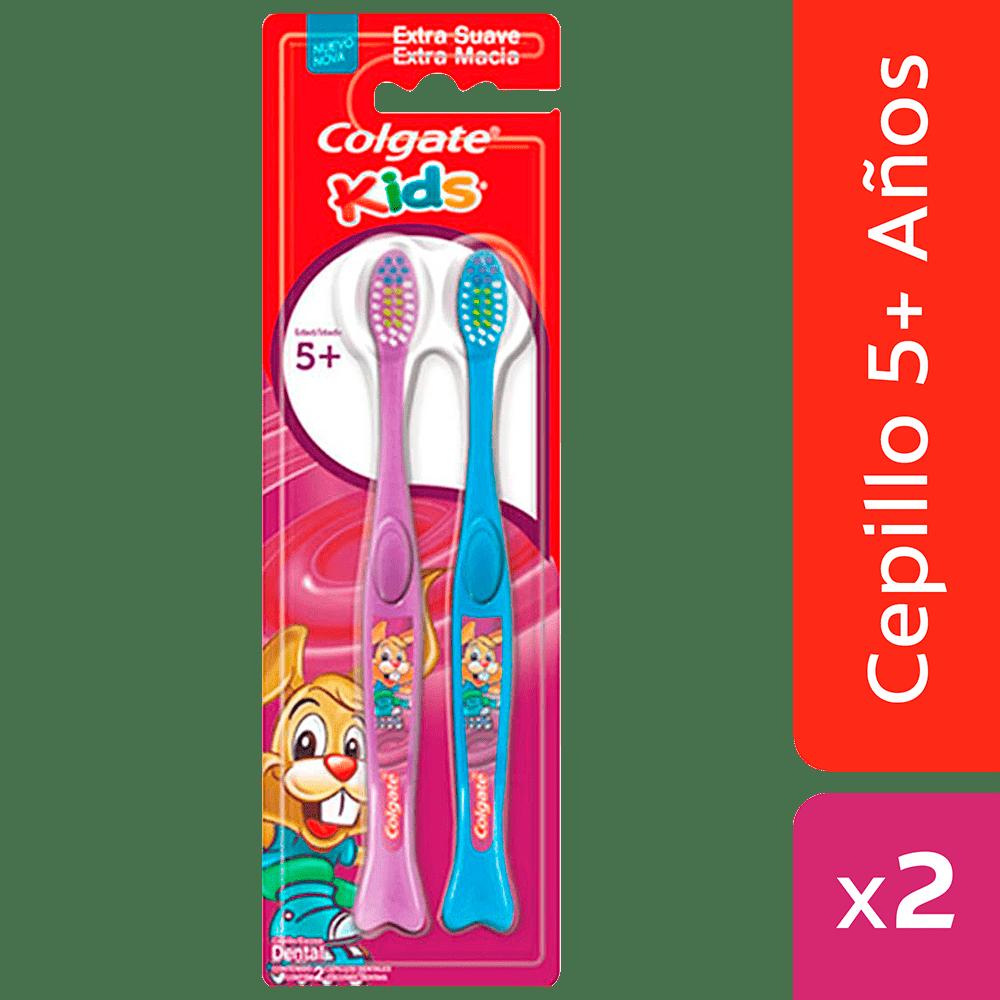 Cepillo Colgate X2 Kids 5+ 2 Und