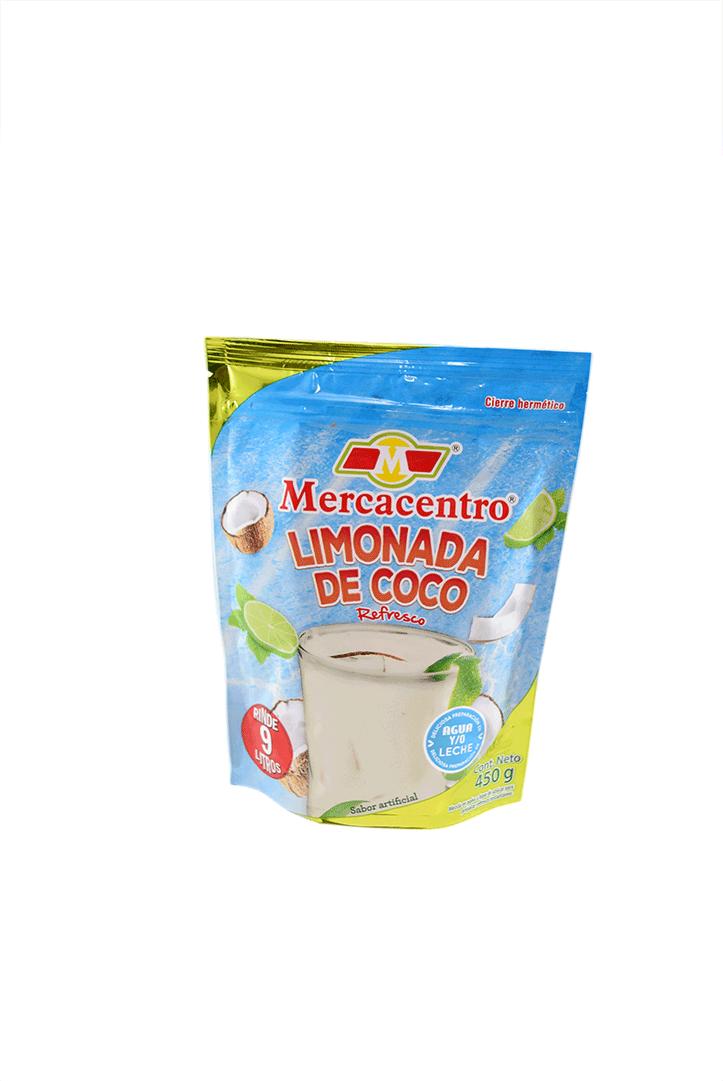 Bebida Instantanea Mercacentro Limonada De Coco 450