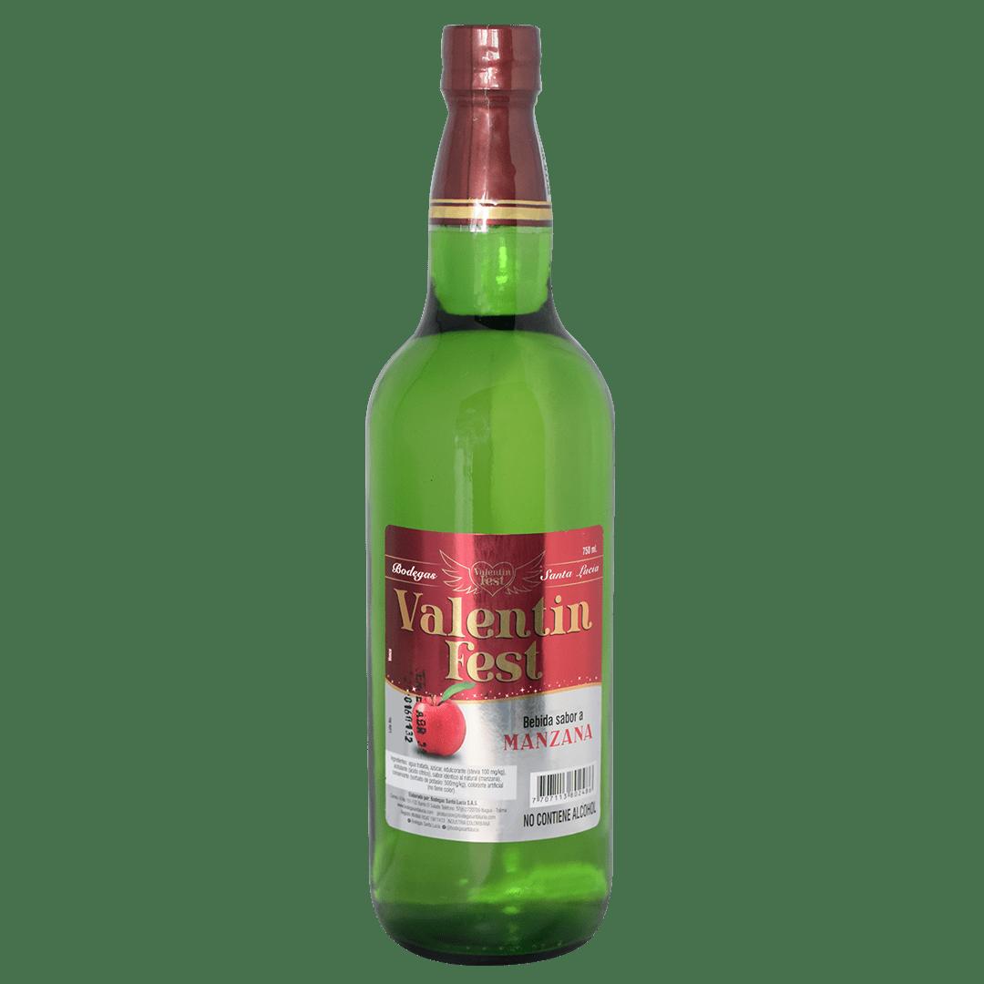 Bebida Valentin Saborizada Manzana 0Ø 750 Ml