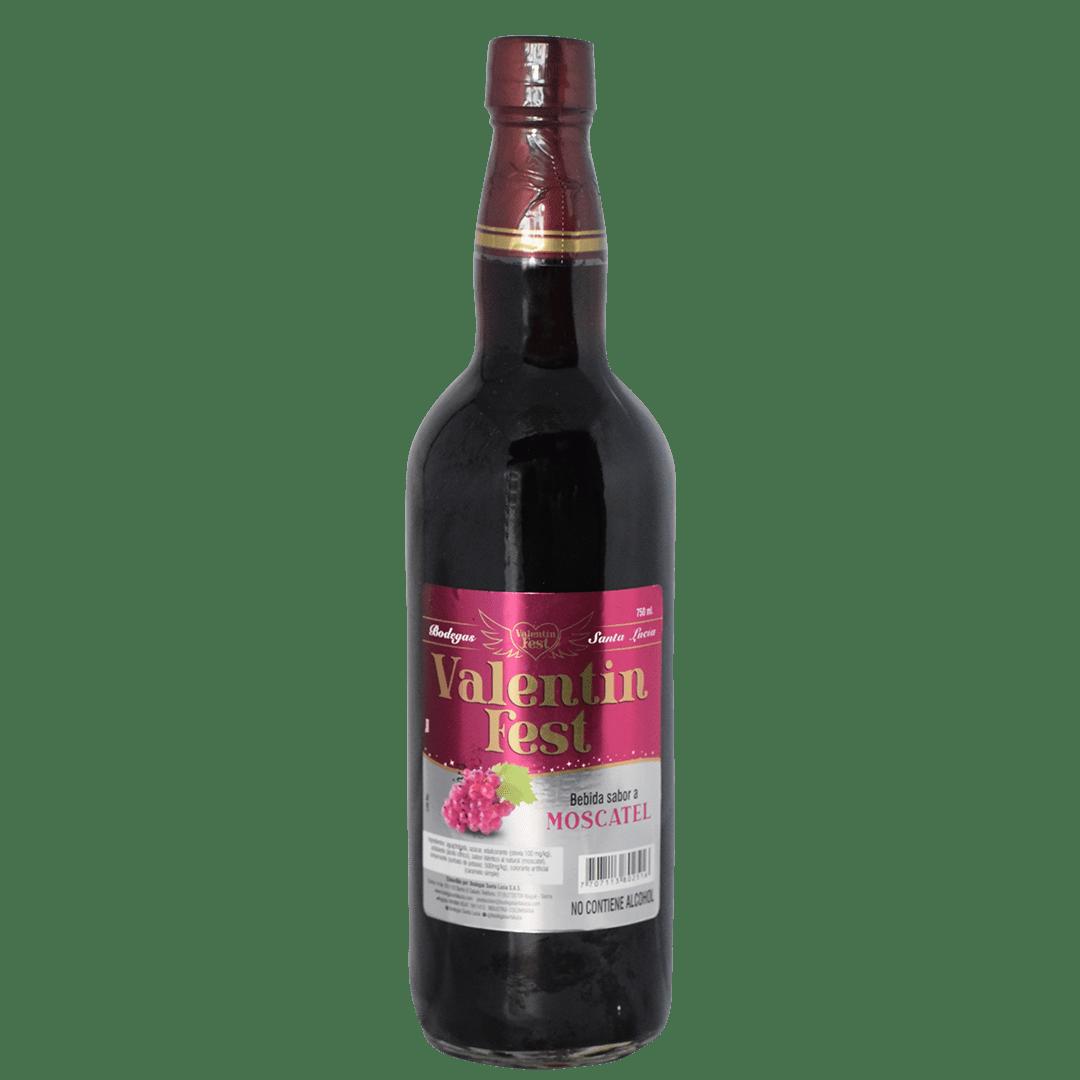 Bebida Valentin Saborizada Moscatel 0Ø 750 Ml