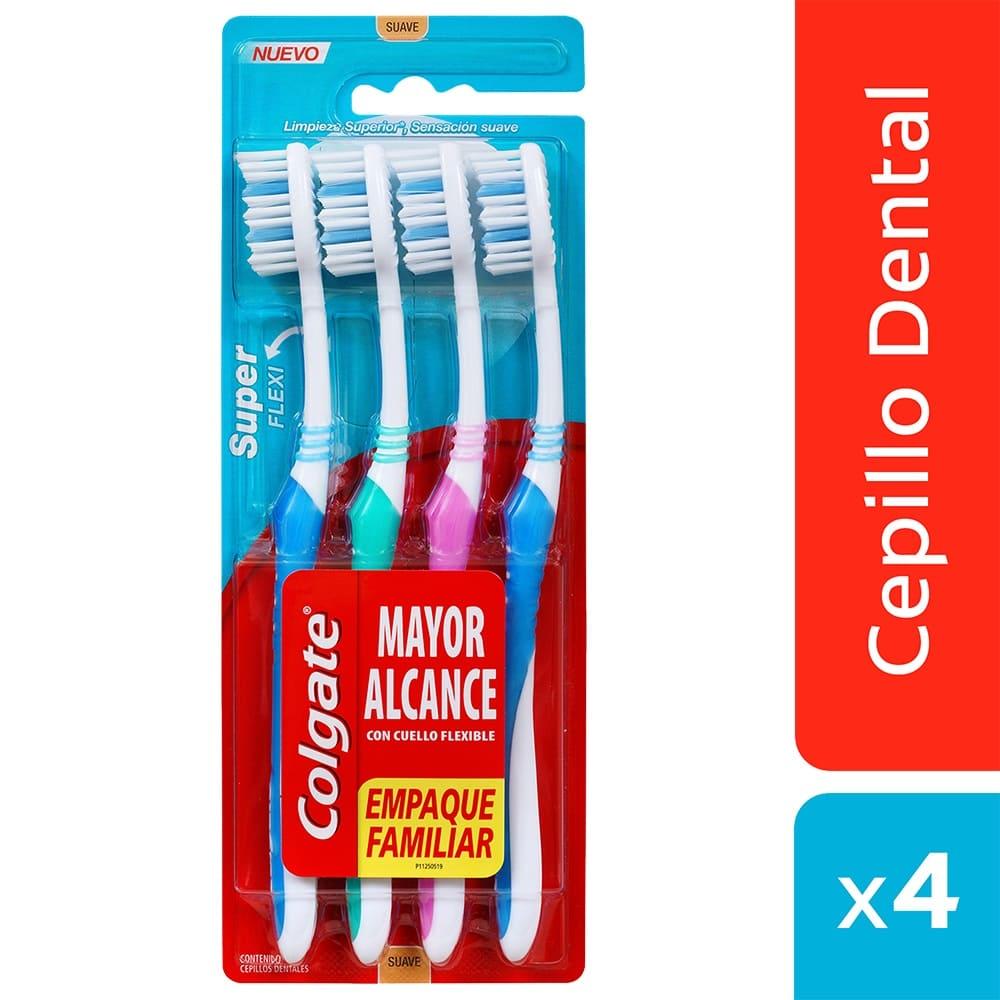 Cepillo Colgate X4 Super Flexi 4 Und