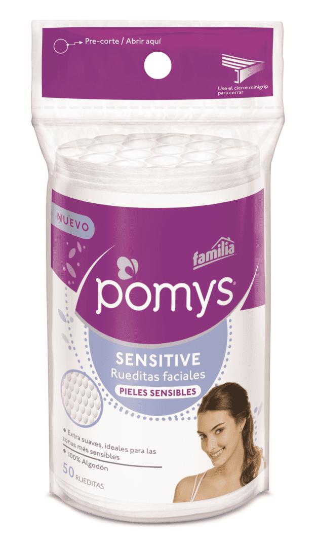 Pomy`S Rueditas Faciales Sensitive 50 Und