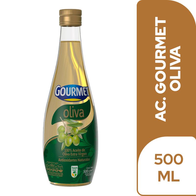 Aceite De Oliva Gourmet Vidrio 500 Ml