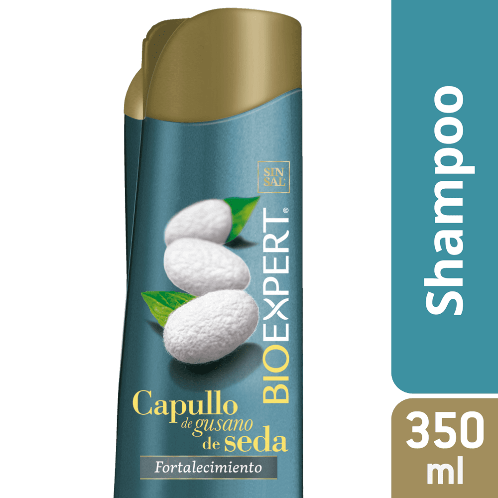 Shampoo Bioexpert Gusano De Seda 350 Ml