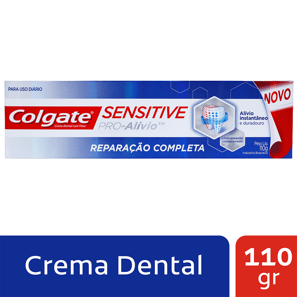 Crema Colgate Sensitive Reparación Completa 110 G