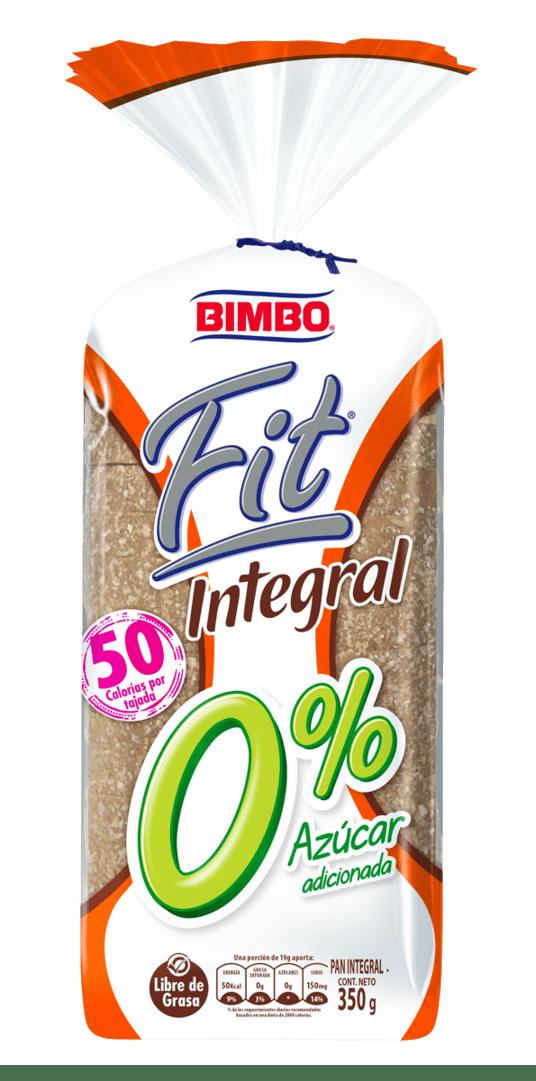 Pan Bimbo Fit Integral 350 G