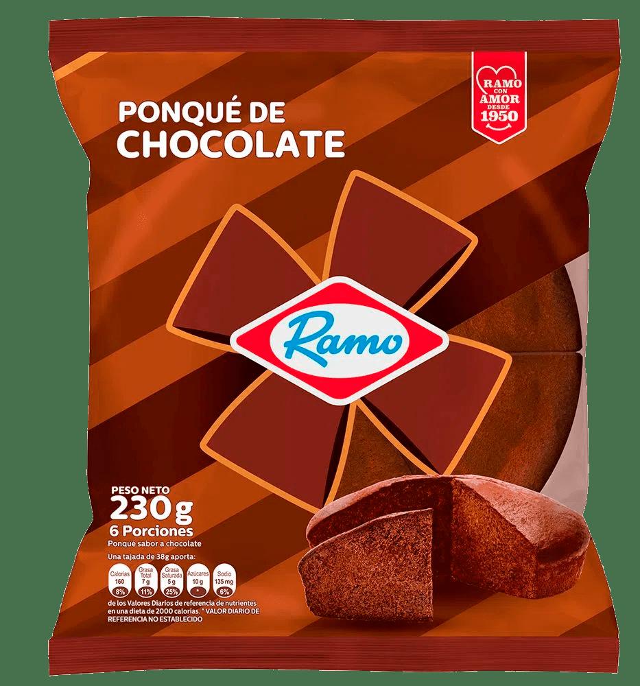 Ponque Ramo Chocolate 230 G