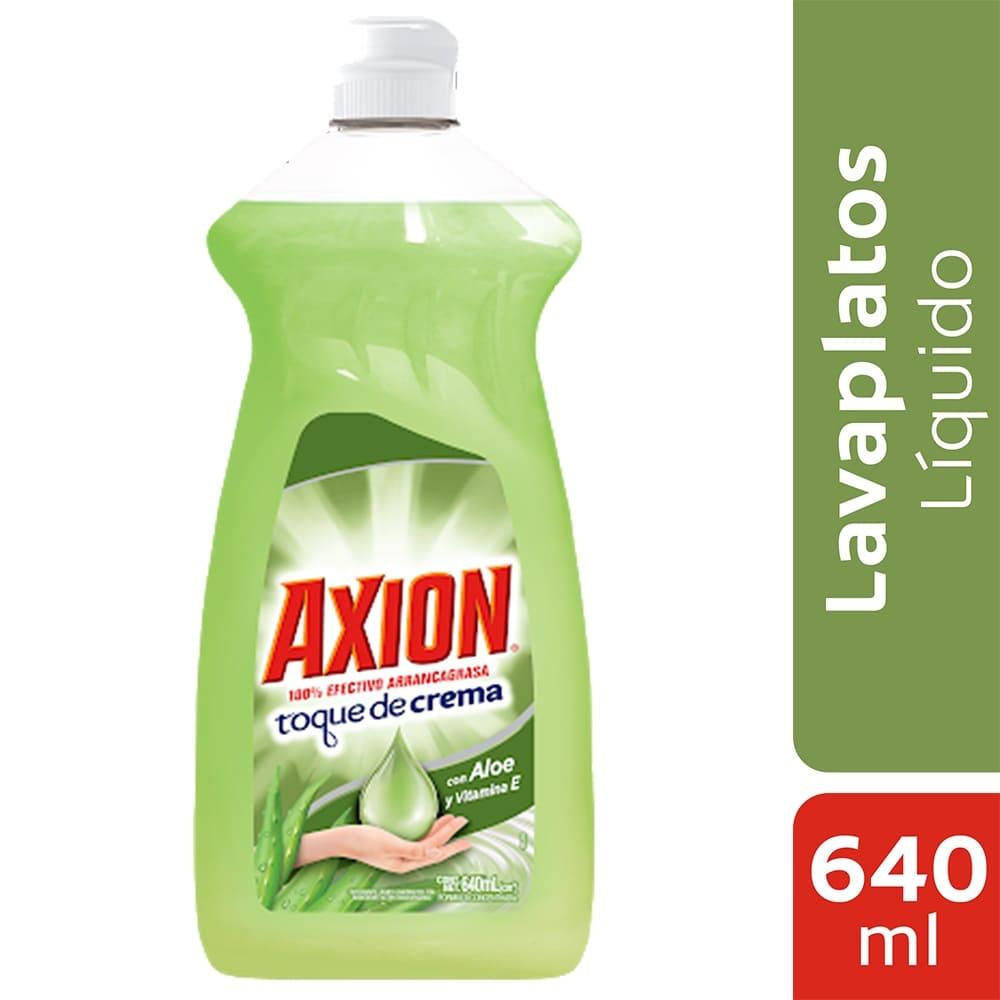 Lavaplatos Axión Aloe Líquido 640 Ml