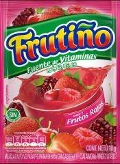 Frutiño Frutos Rojos 2 Litros 18 G