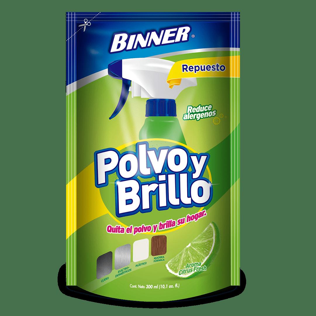 Binner Polvo Y Brillo Citrus Doypack 300 Ml