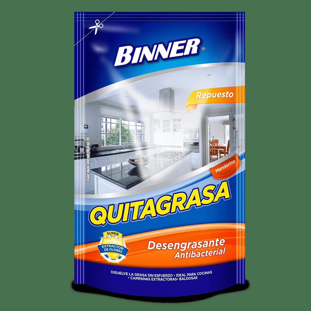 Quitagrasa Binner Dp Mandarina 300 Ml