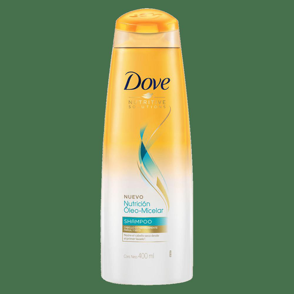 Shampoo Dove Nutrición Oleo Micelar 400 Ml