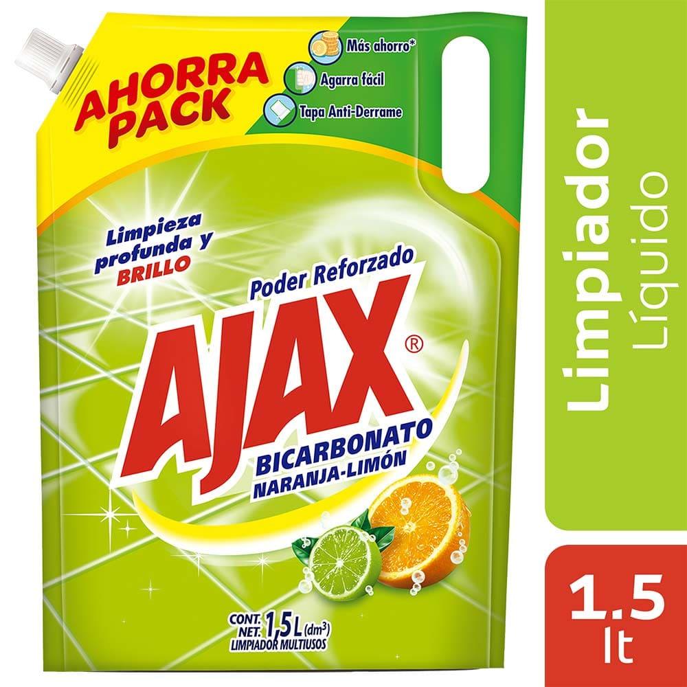 Ajax Limpiador Bicarbonato Doypack 1500 Ml