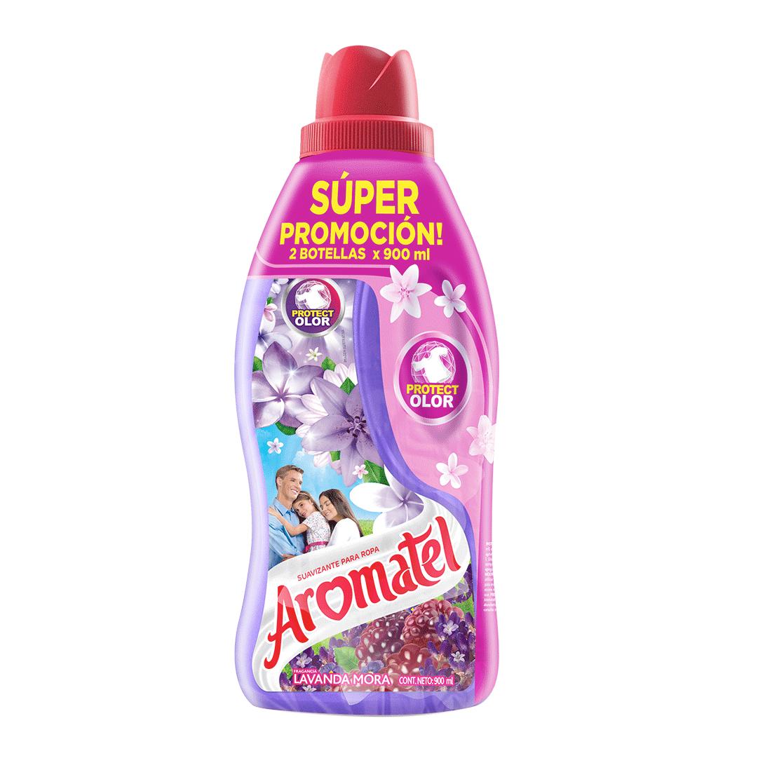 Suavizante Aromatel Lavanda Morada 2X 900 Ml