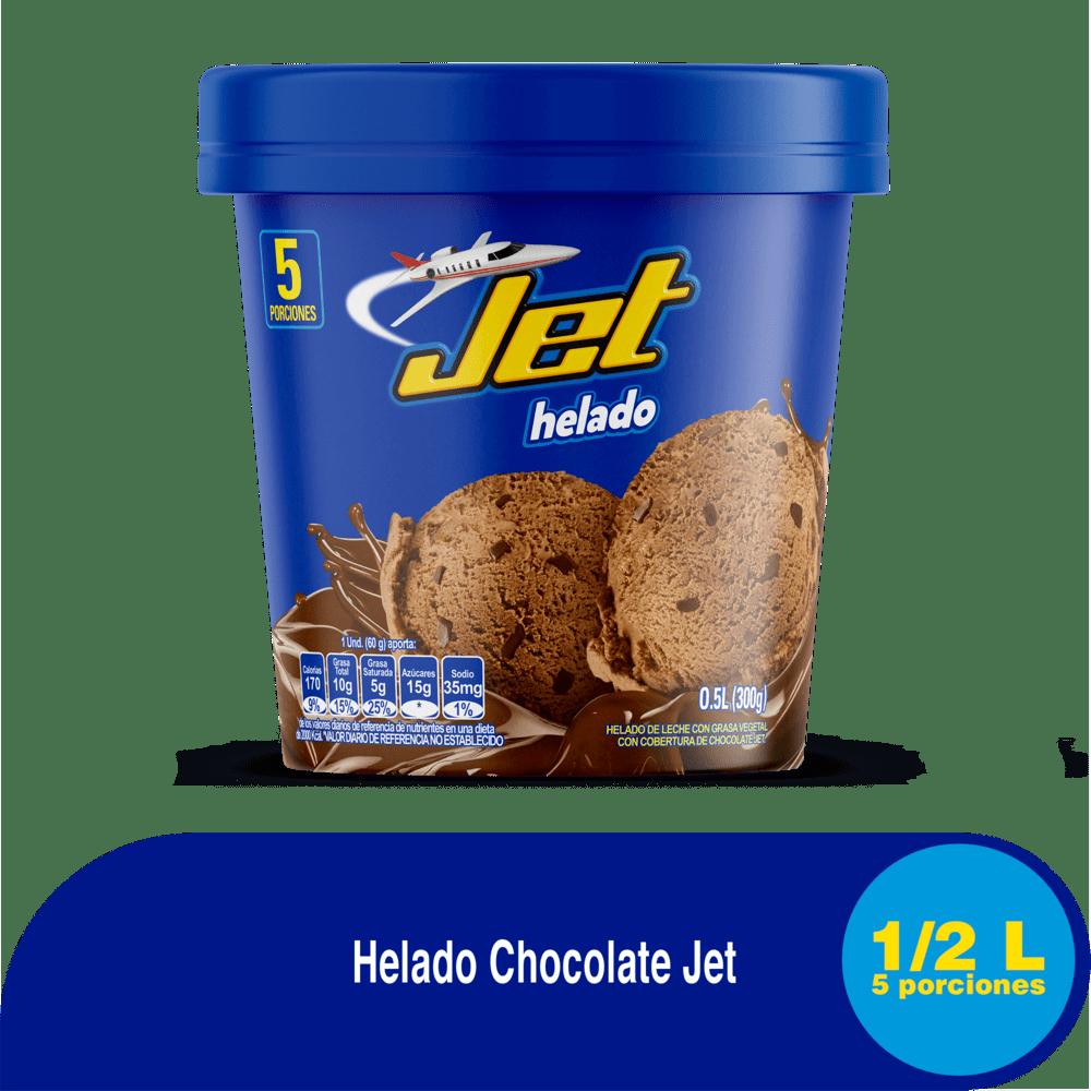 Helado Crem Helado Jet 1/2 Lt/300 G