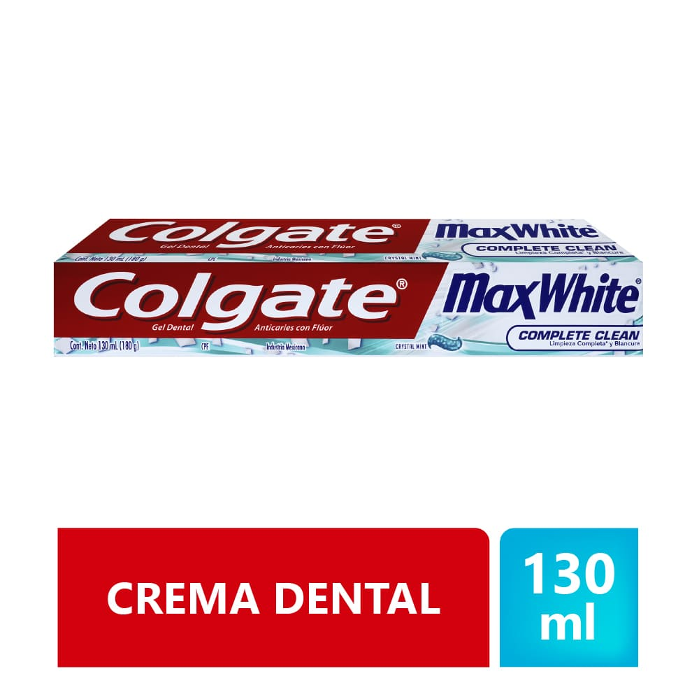 Crema Colgate Maxwhite Crystalmint 131 Ml