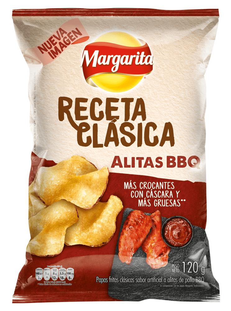 Papas Margarita Receta Clásica Pollo Bbq 120 G