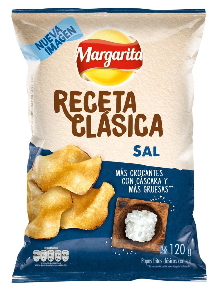 Papas Margarita Receta Clasica Natural 120 G