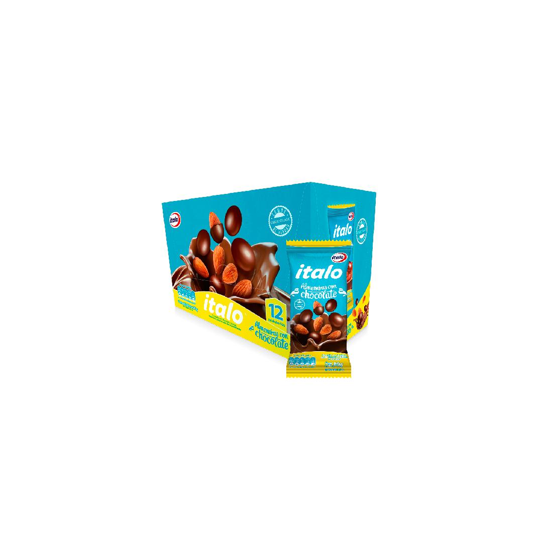 Almendras Italo Cubiertas Con Chocolate 30G