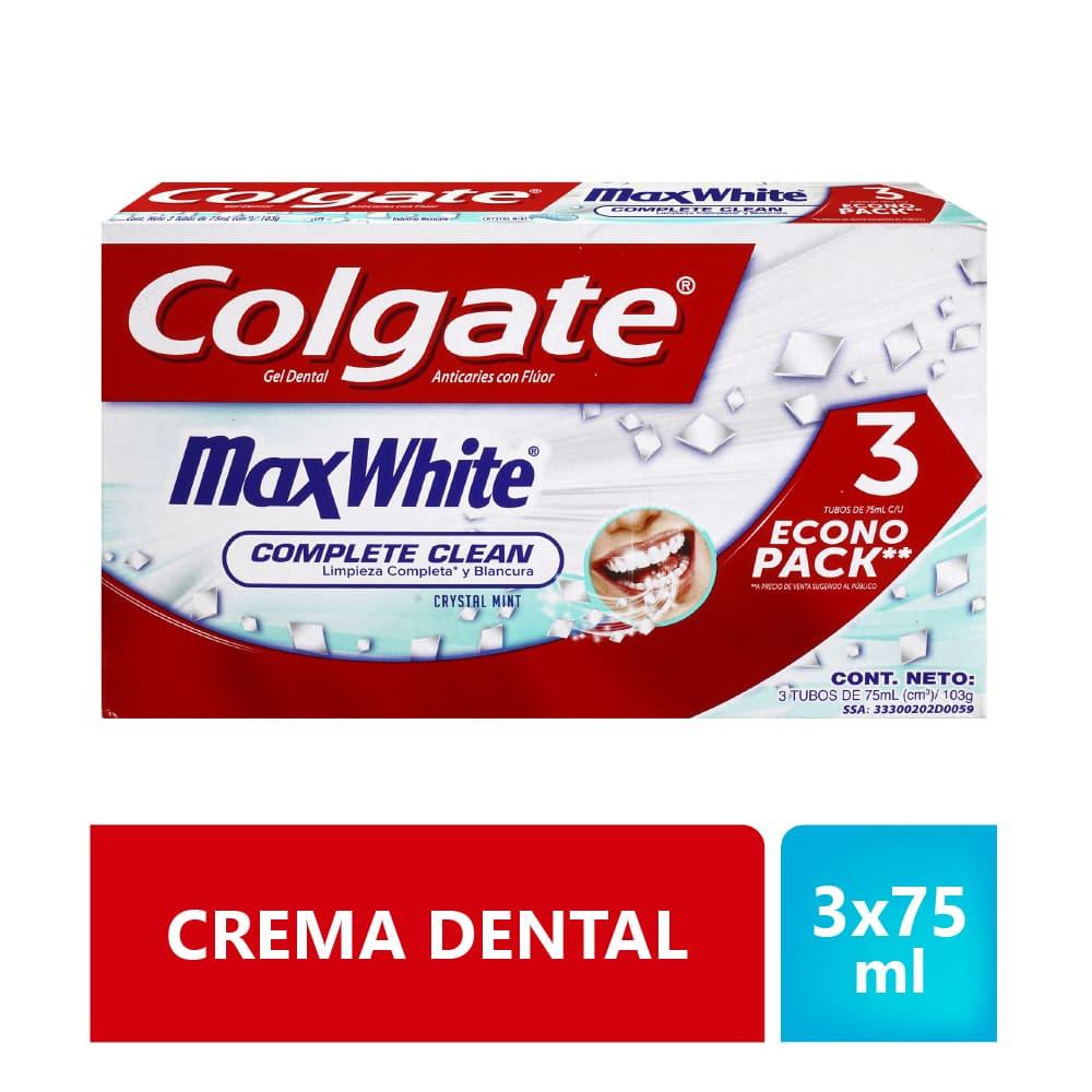 Crema Colgate 3X75 Ml Maxwhite